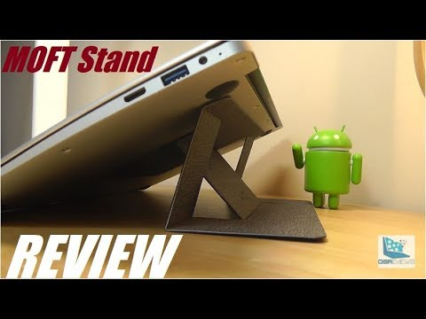 """REVIEW: MOFT """"Invisible"""" Laptop Stand (Folding Design)"""