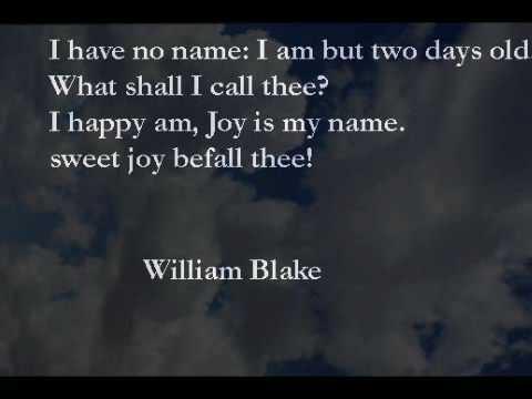 william blake joy
