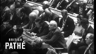 Ninth U.N. Session Opens (1954)