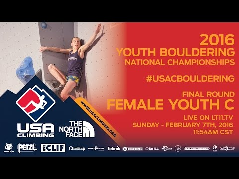 Female Youth C • Finals • Sunday February 7th 2016 • LIVE 11:54AM CST