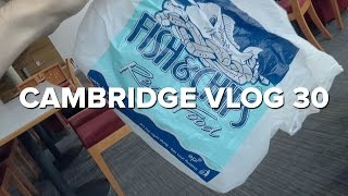 Cambridge Vlog 30 | Ordering food to the CL