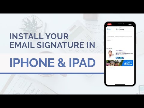 How To Install A HTML Email Signature In Your IPhone Or IPad's Mail App | 2019