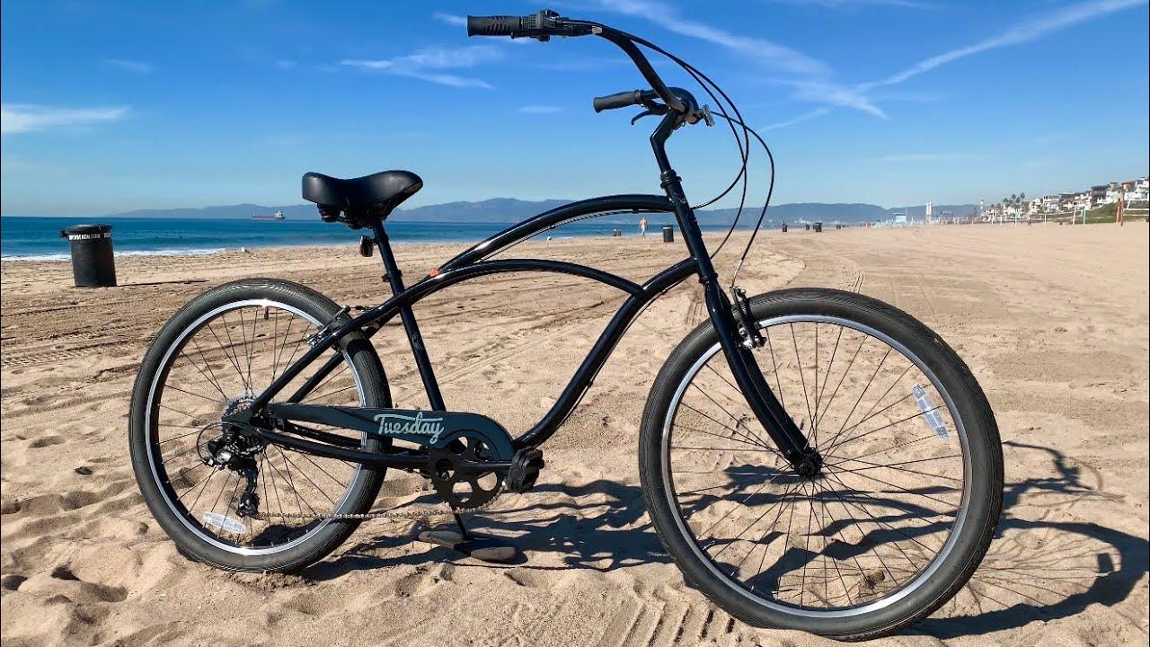 Tuesday Beach Cruiser Bike Review - YouTube