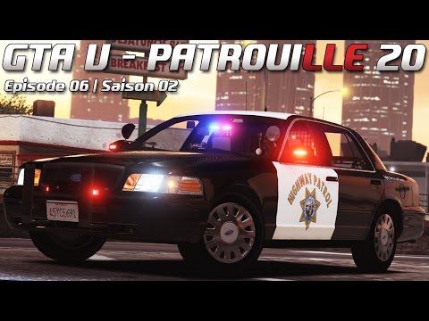 Law Enforcement - Patrouille #20 - Robert Junior ! (FiveM)