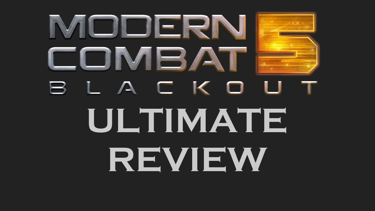 modern combat 5 blackout review youtube. Black Bedroom Furniture Sets. Home Design Ideas