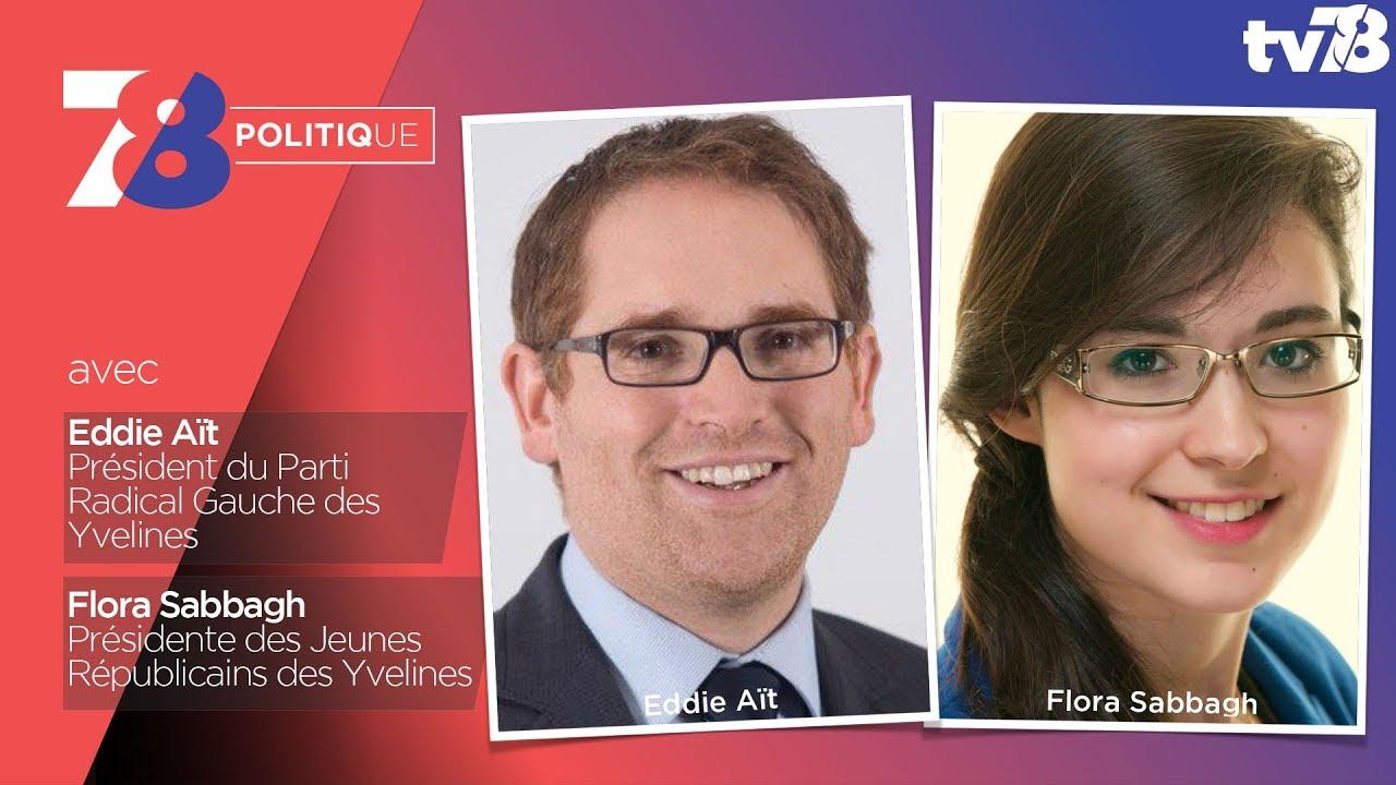 7/8 Politique – Emission du 26 janvier 2018 avec E. Aït (PRG) et F. Sabbagh (LR)