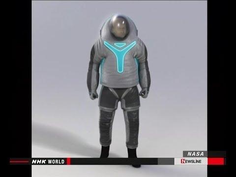 NASA latest space suit احدث بدلة فضائية من تطوير ناسا