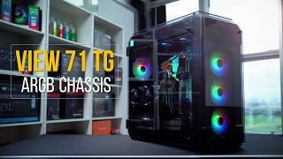 Thermaltake Chassis - View 71 TG ARGB - Spectacular Views From Every Angle