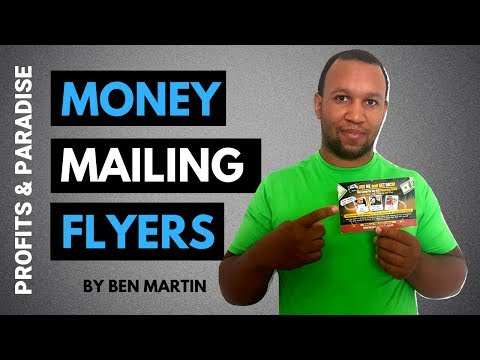 How To Make Money Mailing Flyers & Postcards (Marketing 2019)