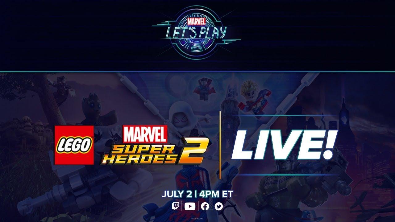 LEGO Marvel Super Heroes 2 LIVE! | Marvel Let's Play