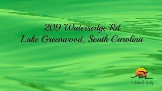Lake Greenwood South Carolina Pucketts Ferry 209 Watersedge