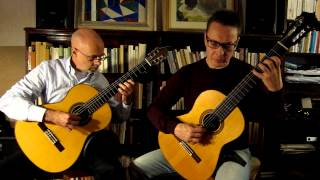 Alberto Ginastera: Milonga played by Duo Normal