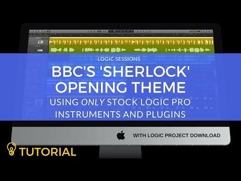 Logic Pro Tutorial: BBC's Sherlock Opening Theme