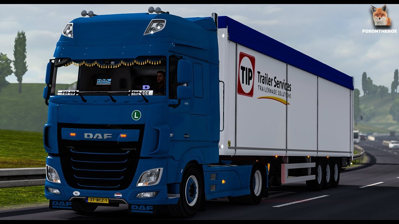 daf xf euro 6 reworked euro truck simulator 2 ets2 mod youtube. Black Bedroom Furniture Sets. Home Design Ideas