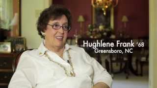 Hughlene Frank, 2013 Oustanding Service Award, Appalachian State University