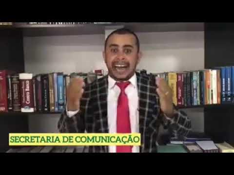 Humorista de Patos faz autoproclamação à prefeitura da cidade