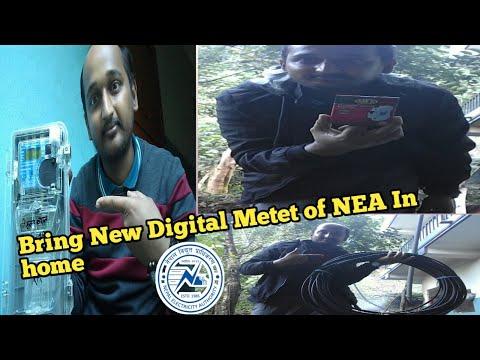 Bring New Digital Meter of NEA in Home | Naya Digital Meter Ghar ko Lagi in Nepali