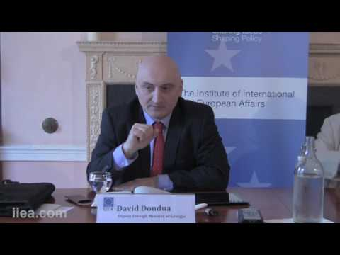 David Dondua - Georgia's Foreign Policy: Challenges and Opportunities.