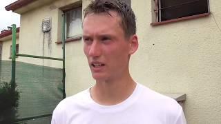 David Poljak po vítězství v semifinále Rieter Open Ústí nad Orlicí 2018