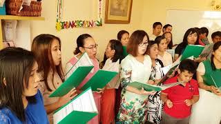 CBC Anniversary Choir Practice 19 Oct 2018