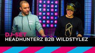 Headhunterz B2B Wildstylez (DJ-set) | SLAM! Video