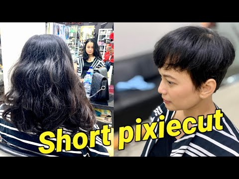 long-to-short-pixie-haircut-|-potong-rambut-pixie-|-hair-transformation-|-hairstyles