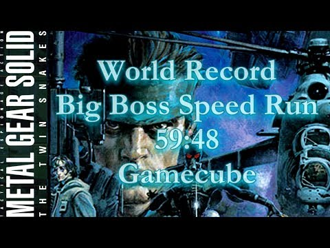 Metal Gear Solid: The Twin Snakes | World Record Big Boss Speedrun (59:48 IGT)