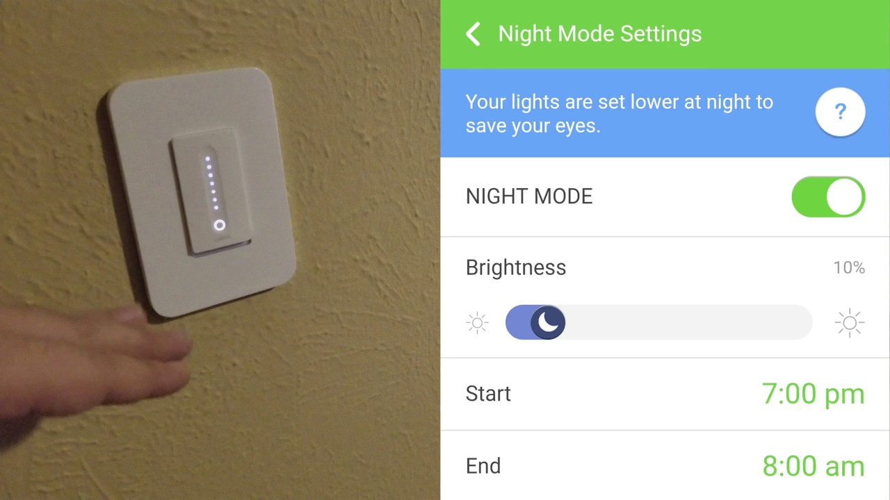 Wemo Dimmer Switch Review Demo Youtube