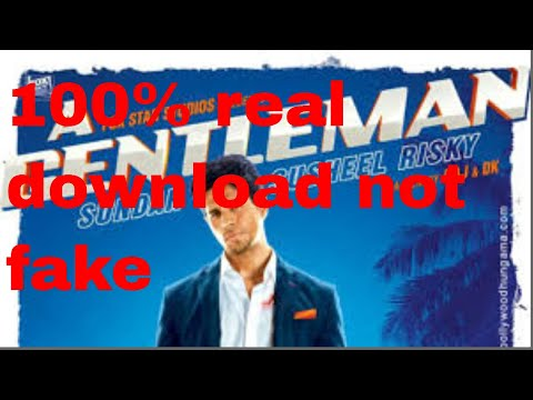 How to download  Gentleman movie full HD and dual audio 100% real