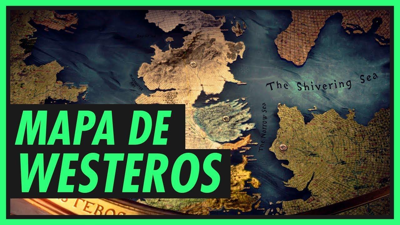 Entenda O Mapa De Westeros Game Of Thrones Youtube