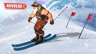 DO SKI ON FORTNITE (and other secrets)