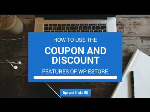 How To Use The Coupon And Discount Features Of WP EStore