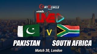 Cricbuzz LIVE: Match 30, Pakistan v South Africa, Pre-match show