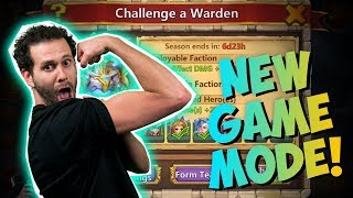 new game mode challenge a warden