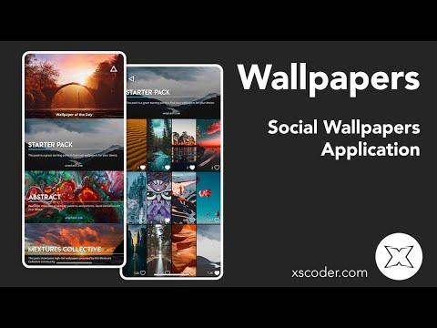 Wallup Ios Iphone Social Wallpapers Application Youtube