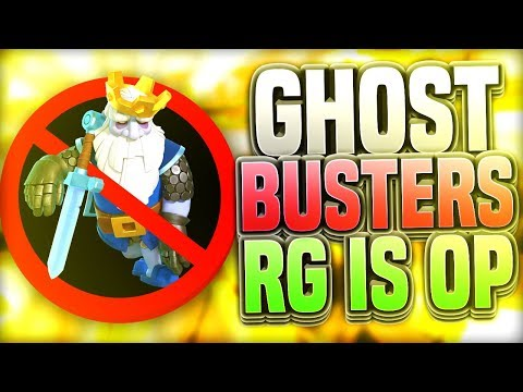 GHOSTBUSTERS - Clash Royale has a ROYAL GHOST PROBLEM!!!!!
