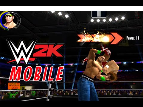 wwe 2k mobile game