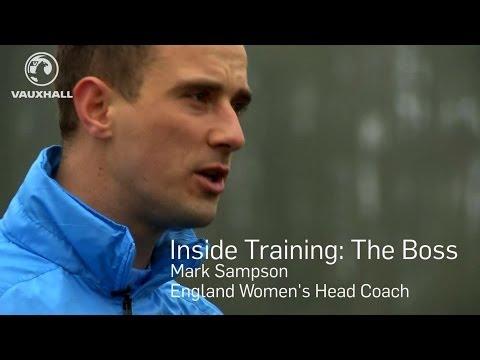 INSIDE TRAINING: Head Coach Mark Sampson mics up at England training