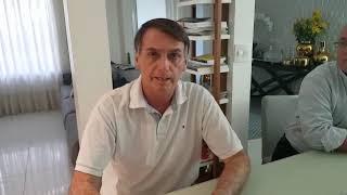 Bolsonaro garante apoio ao Comandante Moisés no segundo turno das eleições em SC