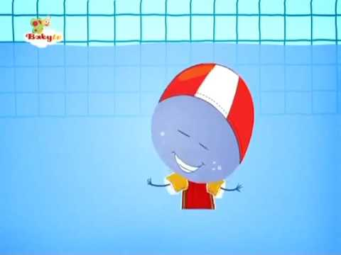 BabyTV Stick with Mick at a swimming pool english