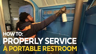 How to Service a Portable Restroom 2020