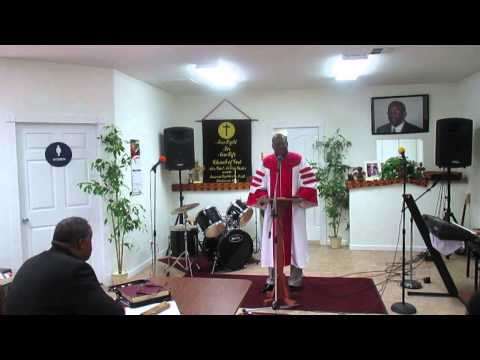 Rev. Harris Say's God Has Given Him The Power To Speak Truth To Power Pt. 1