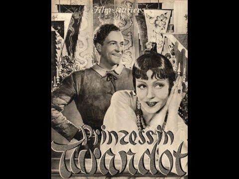 - Sonntagsfilm - Willy Fritsch - Prinzessin Turandot (1934)