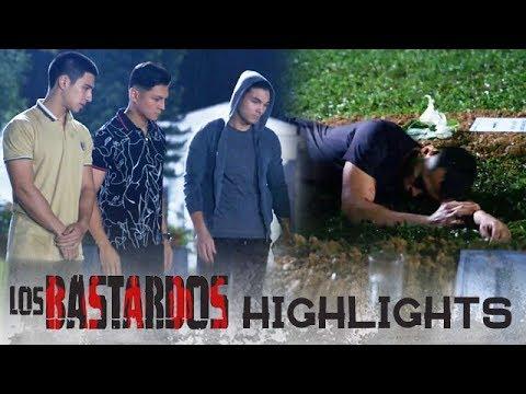 Isagani, naabutan ng mga kapatid na natutulog sa puntod ni Bert at Irma |  PHR Presents Los Bastardos