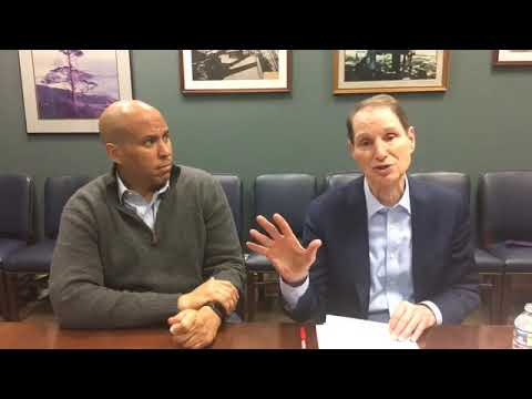 Ron Wyden & Cory Booker Talks About The Marijuana Justice Act