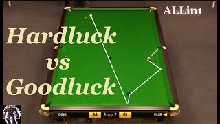 Snooker Incredible Luck! Snooker Tactical Battle Frame 27 Ahead 25 Remaining Hd thumbnail