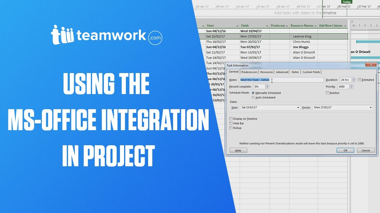 The teamwork project