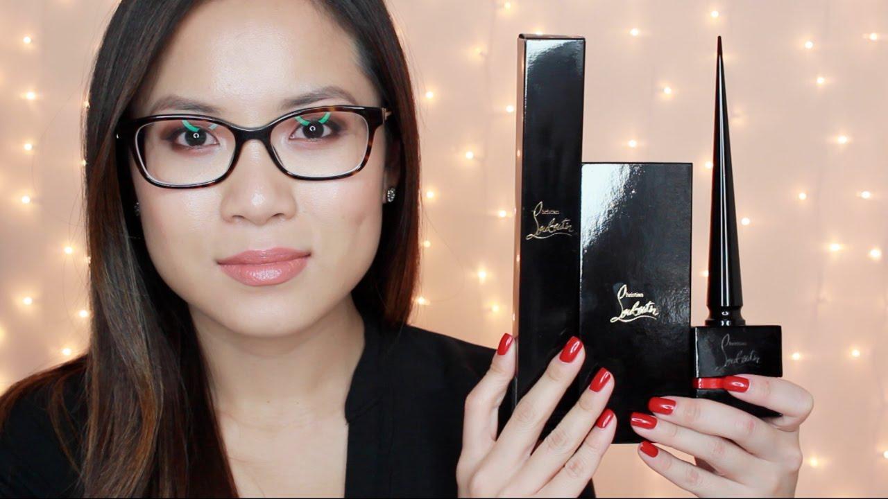 christian louboutin makeup review