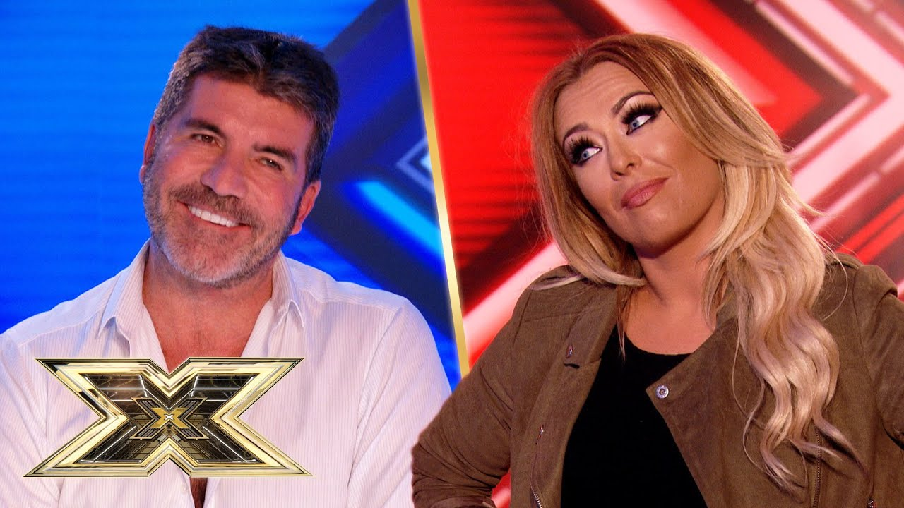 FLIRTY audition gives Simon the giggles!   The X Factor UK