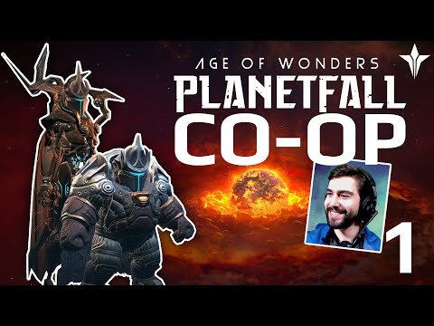I Need More Cosmite! Feat. Luis | CO-OP #1 | Age Of Wonders: Planetfall